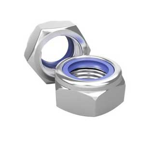 ASTM A193 Grade B8M Nylon Insert Nuts Manufacturer in India
